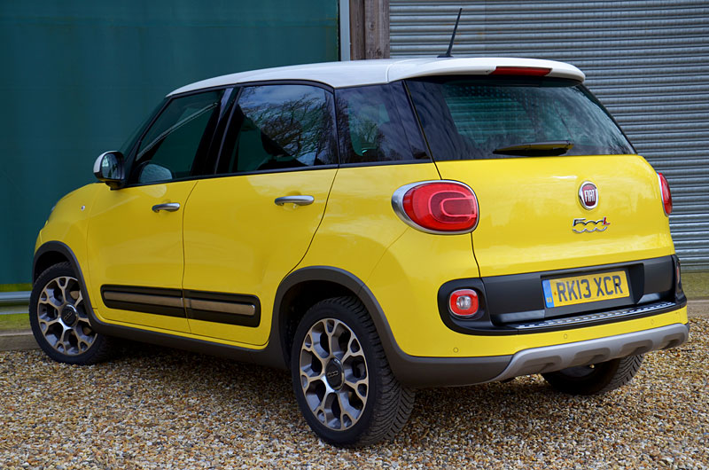 fiat 500l trekking review reviews testdriven. Black Bedroom Furniture Sets. Home Design Ideas