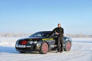 Bentley's ice driving programme – Power On Ice – returns for 2013