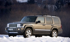 Jeep Commander launched