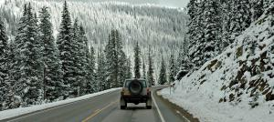 Following the Cherokee at 10,000 feet above sea level in Colorado