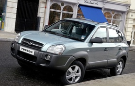Two-wheel drive Hyundai Tucson