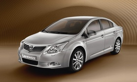 More official photos of new Toyota Avensis