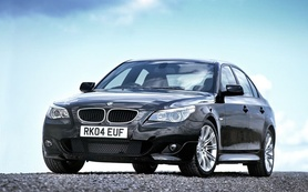 The new BMW 523i, 525i and 530i
