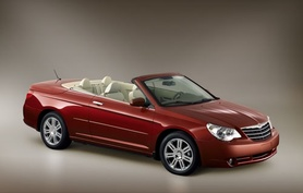 Chrysler Sebring Cabrio to be launched in UK in 2007