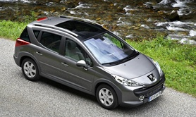 Peugeot 207 SW Outdoor prices and specifications