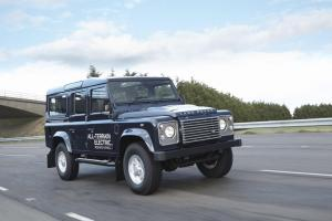 Land Rover Defender electric research vehicle unveiled