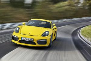 Porsche Cayman GT4 revealed