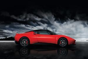 The new Lotus Evora Sports Racer