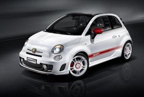 Abarth 500C with manual transmission available now from £16,856