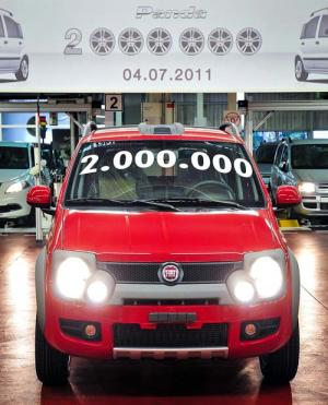 2,000,000th Fiat Panda produced at Poland factory