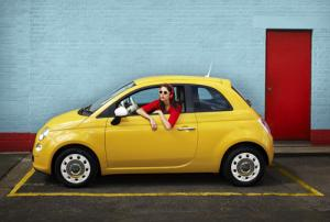 1970s style with the new Fiat 500 Colour Therapy range