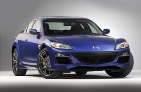 Upgraded Mazda RX-8 unveiled at Detroit 2008
