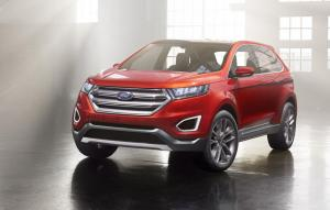 Ford Edge Concept hints at new large SUV
