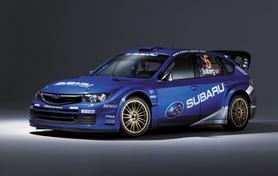 Latest World Rally Car Subaru Impreza WRC 2008 set to launch in Greece