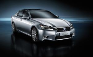 Lexus GS 300h introduced at Shanghai Motor Show