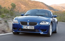 The new BMW Z4 Coupe