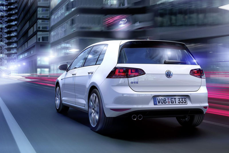 plug in hybrid vw golf gte unveiled news testdriven. Black Bedroom Furniture Sets. Home Design Ideas