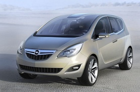 The Vauxhall Meriva Concept shows off its FlexDoors