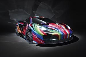 The Hamann memoR – a uniquely colourful McLaren MP4-12C
