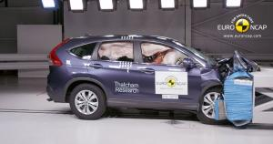 Honda CR-V: Five Star Safety Rating