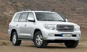 The New Toyota Land Cruiser V8