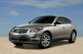 2008 Infiniti EX coupe crossover coming to Europe