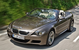 BMW M6 Convertible to debut at London show