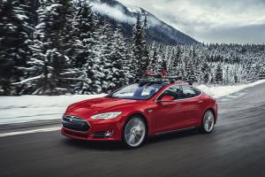 Tesla Model S P85D First Drive Review