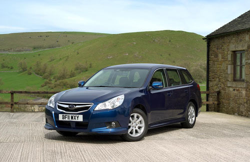 New Subaru Legacy Tourer ES Nav entry level model launched