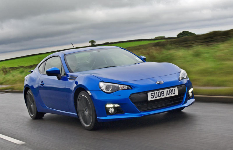 Subaru BRZ now with free winter tyres and wheels