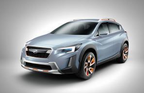 Subaru XV Concept unveiled at Geneva