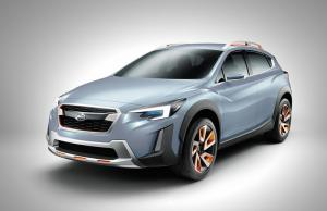 Subaru XV Concept unveiled at Geneva