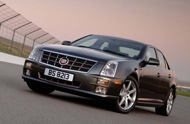 The 2008 Cadillac STS now in right hand drive