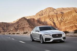 New Jaguar XF unveiled