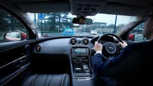 Urban Windscreen 'Follow Me' Ghost Car and Transparent pillars