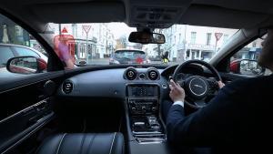 Jaguar Land Rover researches transparent pillars, 'ghost car' navigation