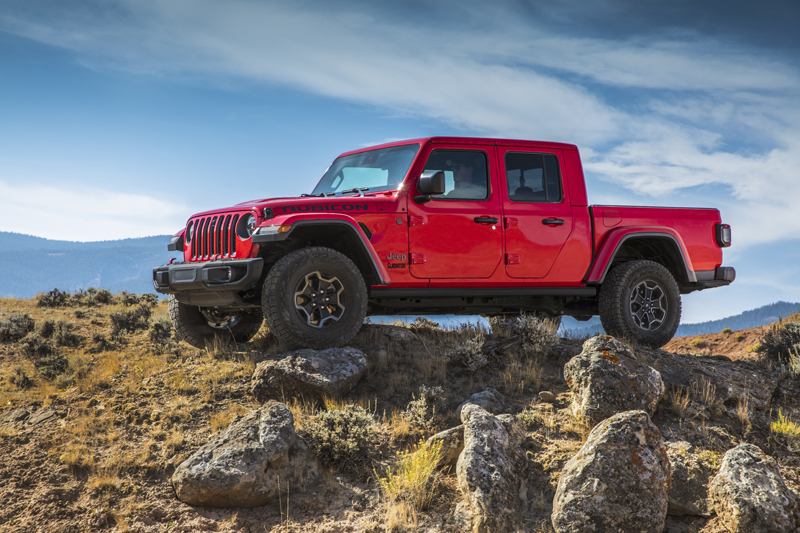 Jeep Gladiator Pickup 14 Years In The Making Testdriven