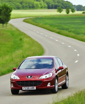 The new 2009 Peugeot 407