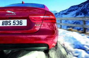 2017 model year Jaguar XE with AWD