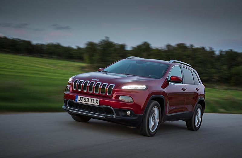 New Jeep Cherokee prices to start from £25,495