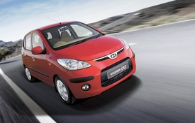 The new Hyundai i10 city car