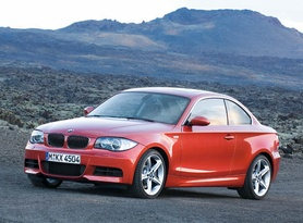 BMW 1 Series Coupe first pictures and details