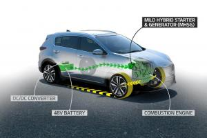 Kia diesel 48V mild-hybrid