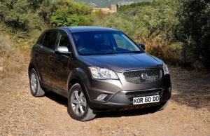 The new SsangYong Korando