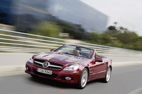 The new-generation Mercedes-Benz SL-Class
