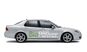 Saab announces UK launch of 9-5 Biopower flex-fuel models