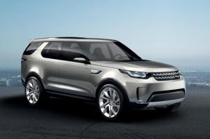 Land Rover Discovery Vision Concept unveiled