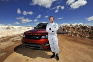 Range Rover Sport breaks production vehicle record on Pikes Peak
