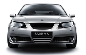 First official pictures of new Saab 9-5