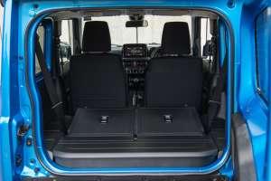 2019 Suzuki Jimny cargo area